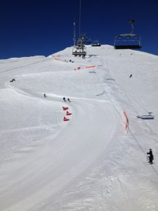 One of the slopes in Villars